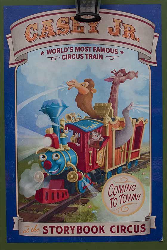 Poster Dumbo Junior Original Casey