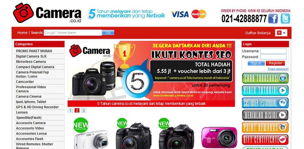 Camera.co.id Toko Kamera Murah Di Indonesia Kamera