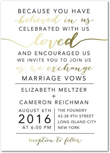 Invitation Wording  That Thing    Weddings