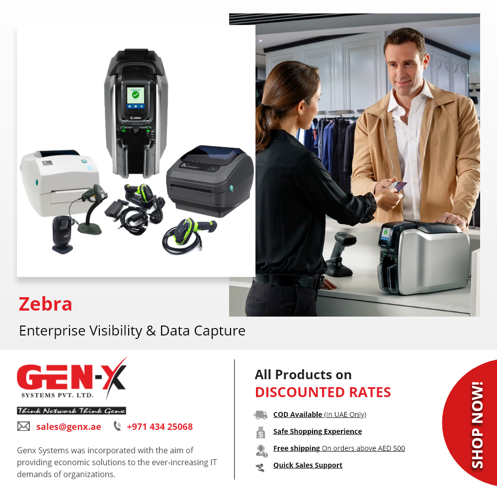 Zebra Thermal Printers And Barcode Scanners Genx System In 2020 Zebra Printer Thermal Printer Zebra