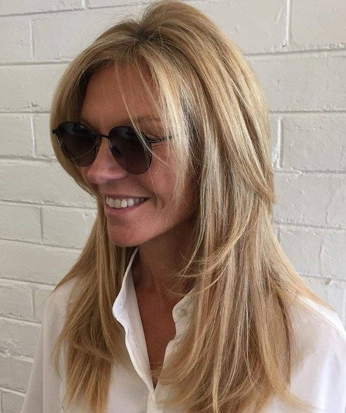 Pleasant 35 Latest Long Layered Hairstyles Hairstyles Pinterest Hairstyles For Women Draintrainus