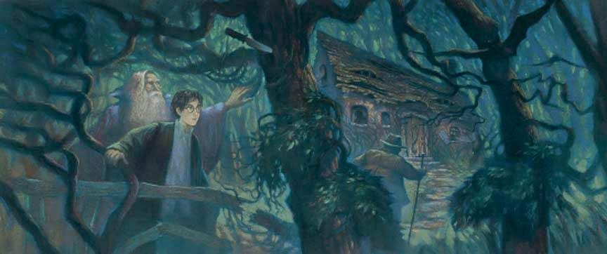 Harry Potter Half Blood Prince 6.1 Deluxe Mary GrandPre SIGNED Bookcover Giclee on Fine Art Paper Limited Edition of 500