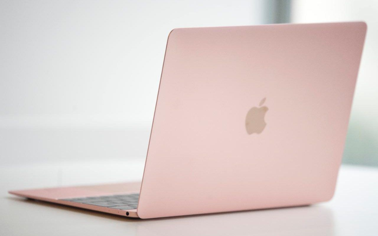 macbook 12 inch rose gold review apple 39 s latest is pink portable powerful rose gold. Black Bedroom Furniture Sets. Home Design Ideas