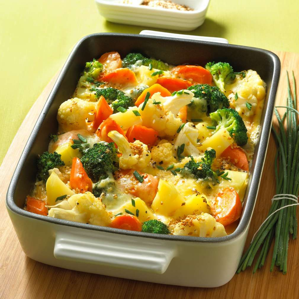Photo of Colorful vegetable casserole