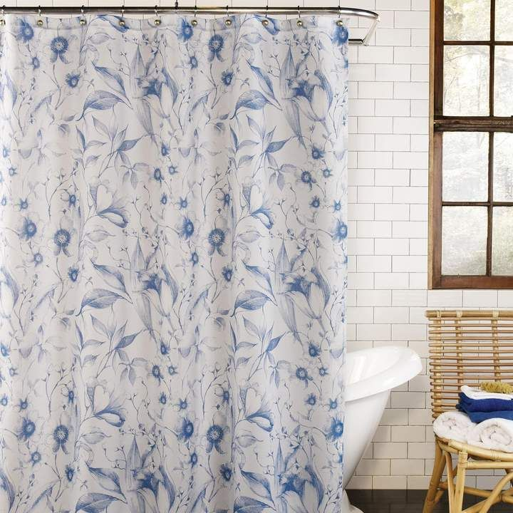 Excell Leilani Shower Curtain Fabric Shower Curtains Curtains