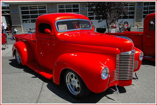 1947 international vintage pickup car garage him pins for him man men male - Moissonneuse cars ...