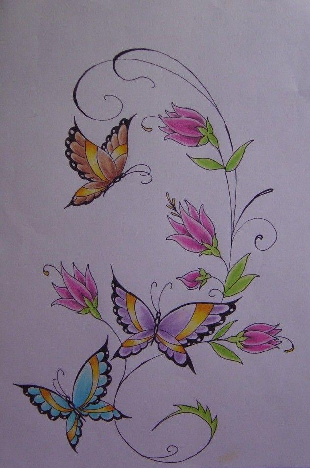 Tattoo Butterfly Borboletas By Antony Sandeviantartcom