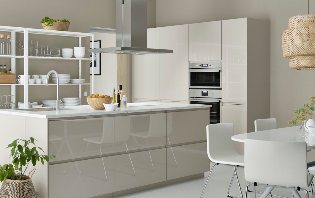 Australia Cuisine Blanc Laque Voxtrop Ikea Cuisine Ikea