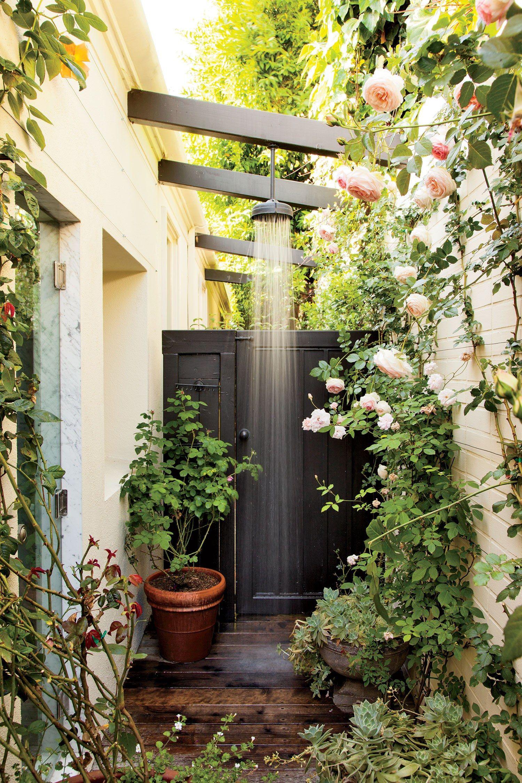 12 Inspiring Outdoor Shower Design Ideas Photos