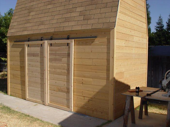 Exterior Sliding Barn Doors make sliding barn doors using skateboard wheels | sliding doors