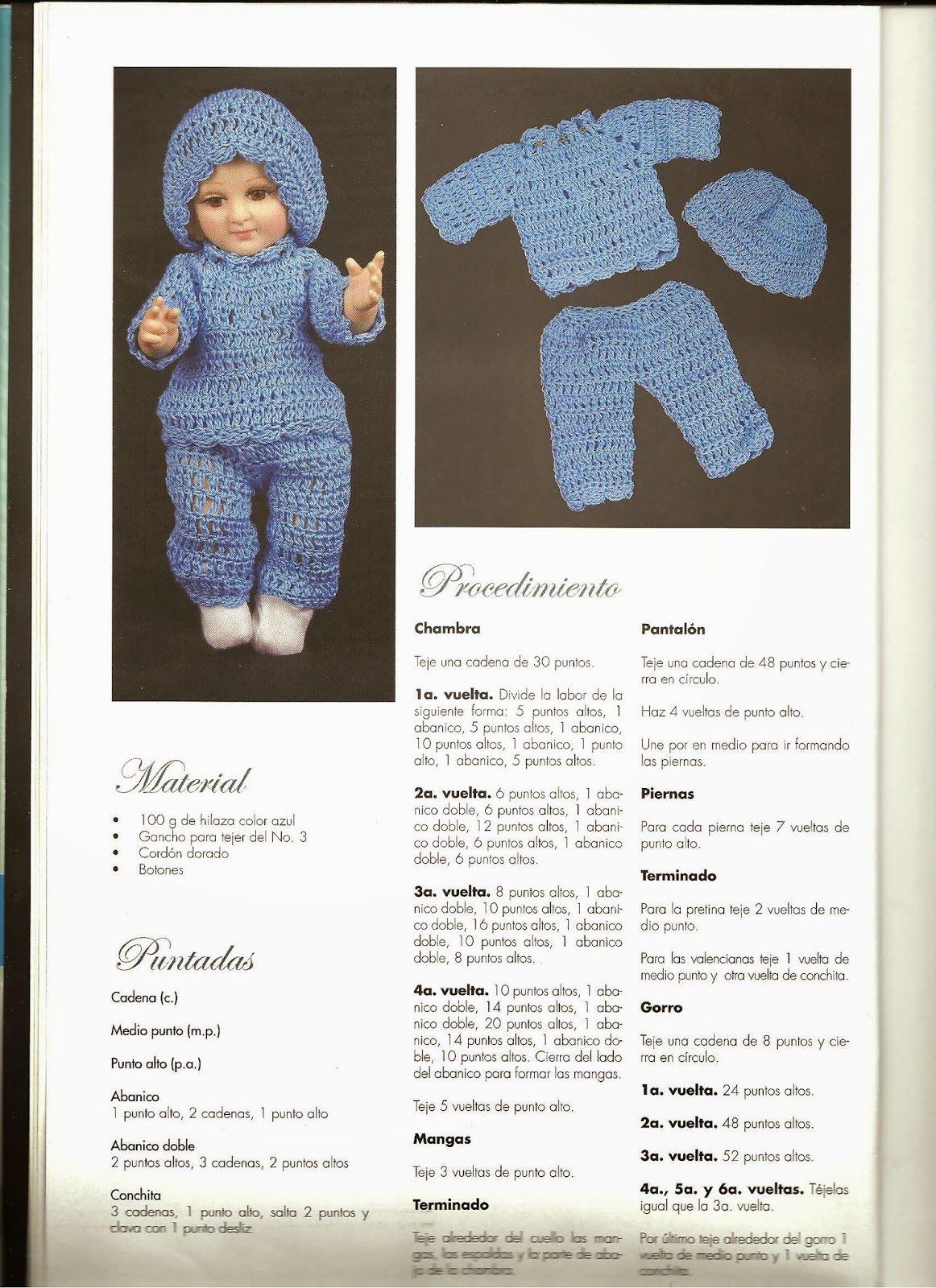 teje vestido de niño dios a gancho esquemas y patrones | Niños Dios ...