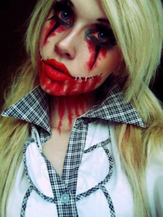 Pin by juliette on Halloween Pinterest Halloween makeup - halloween costumes scary ideas