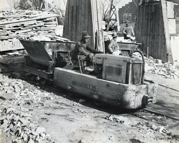 Brookville Locomotive | Photograph | Wisconsin Historical Society