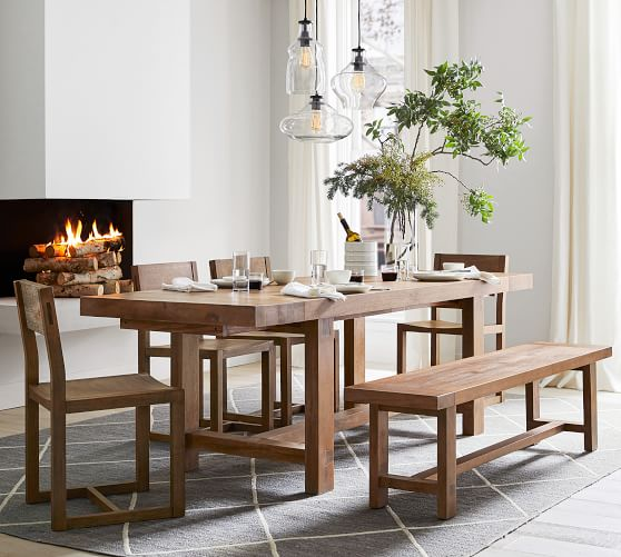 Reed Extending Dining Table In 2020 Extendable Dining Table