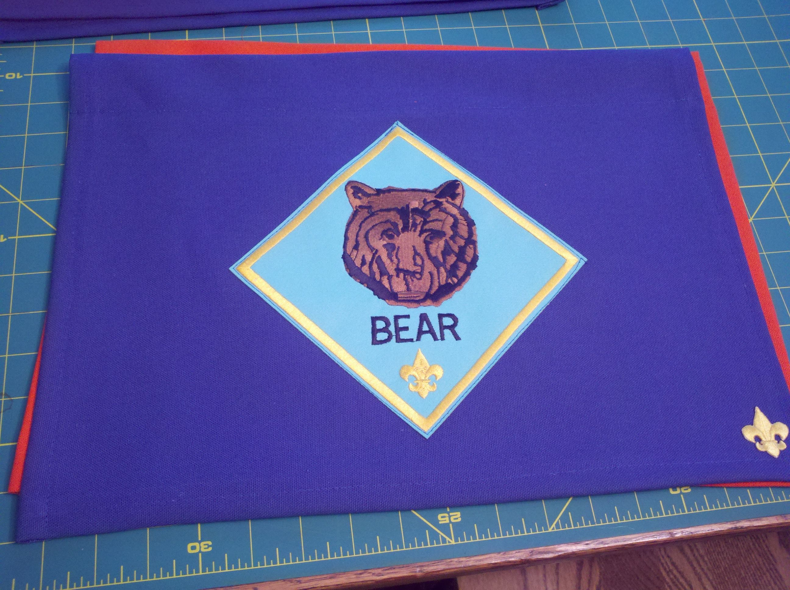 Pin On Cub Scout Den Flags