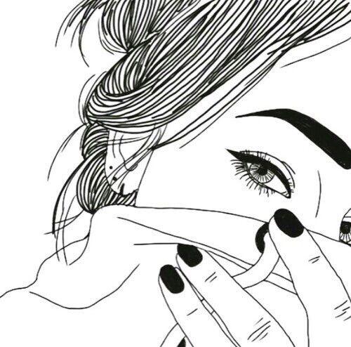 Outlines Tumblr Grunge Doodles On Tumblr Tumblr Kunst