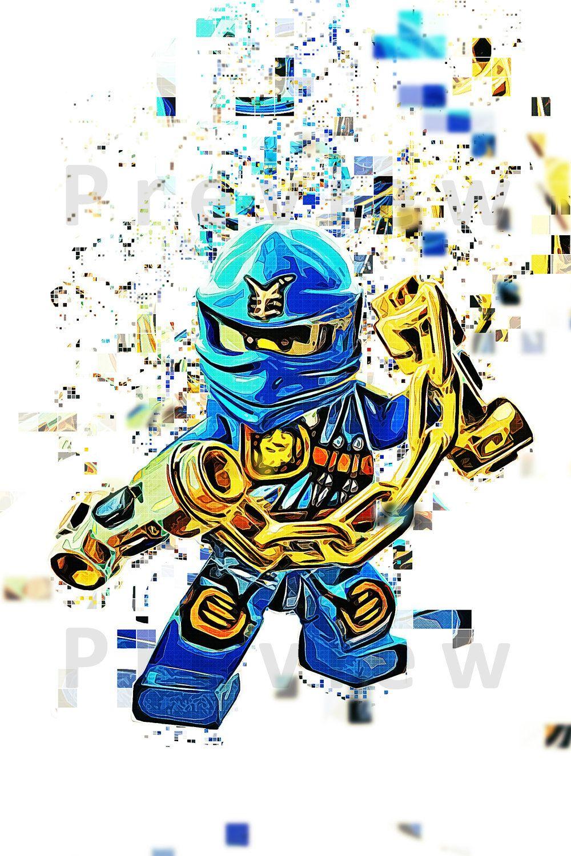 Image 1 Jay Ninjago Lego Ninjago Movie Cartoon Art