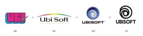 Ubisoft Dawns A New Logo Ubisoft Logo Evolution Logos