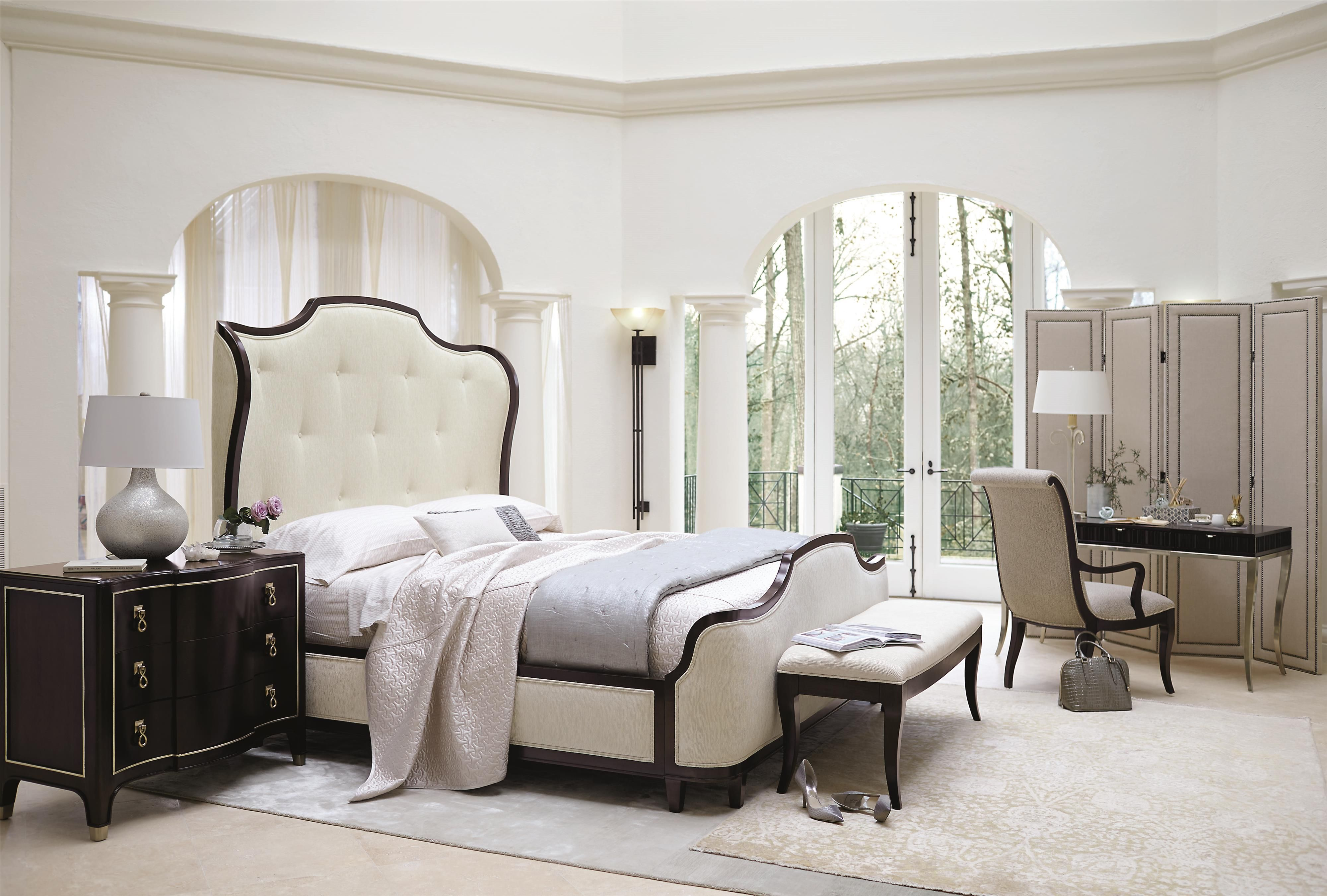 Brilliant Miramont King Bedroom Group 4 By Bernhardt Luxe Home Interior And Landscaping Analalmasignezvosmurscom