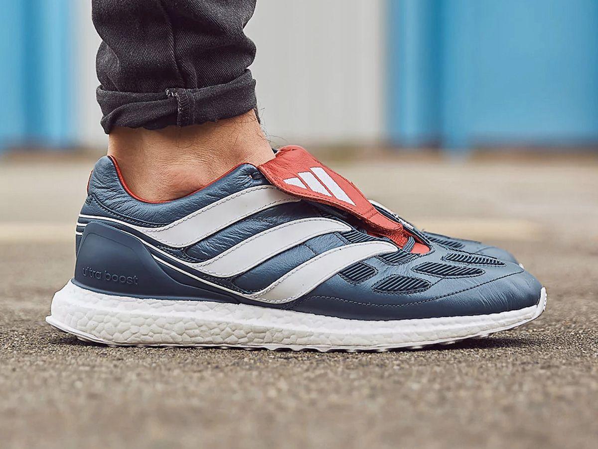 37e93ac99771a0 On-Foot  adidas Predator Precision Ultra Boost  Blue Grey  - EU Kicks   Sneaker Magazine