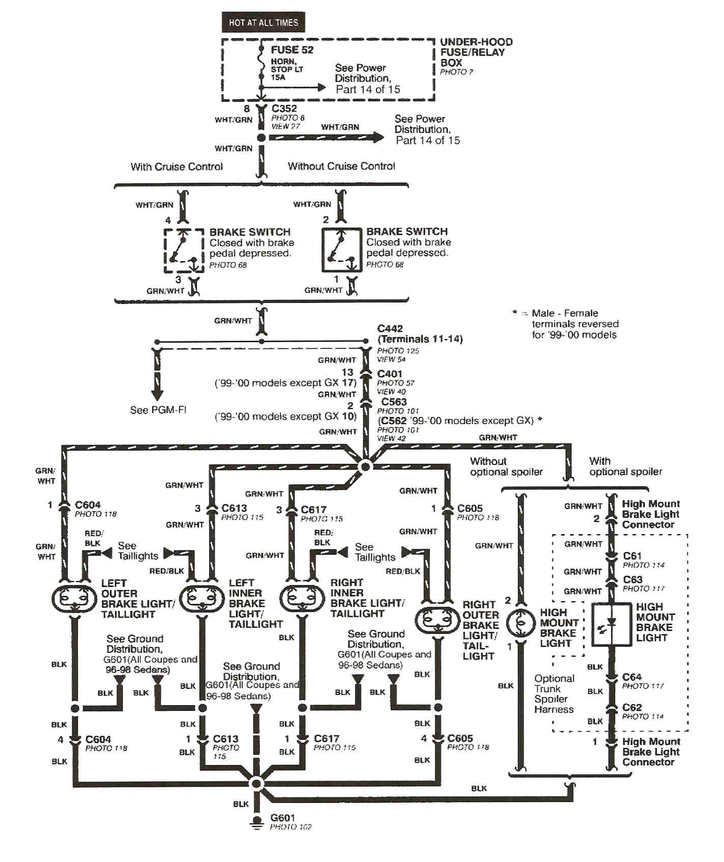 elegant 2001 honda civic wiring diagram di 2020 | honda pilot, diagram,  honda  pinterest