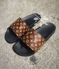 c35f22c2001 Image result for custom slides Vuitton Bag