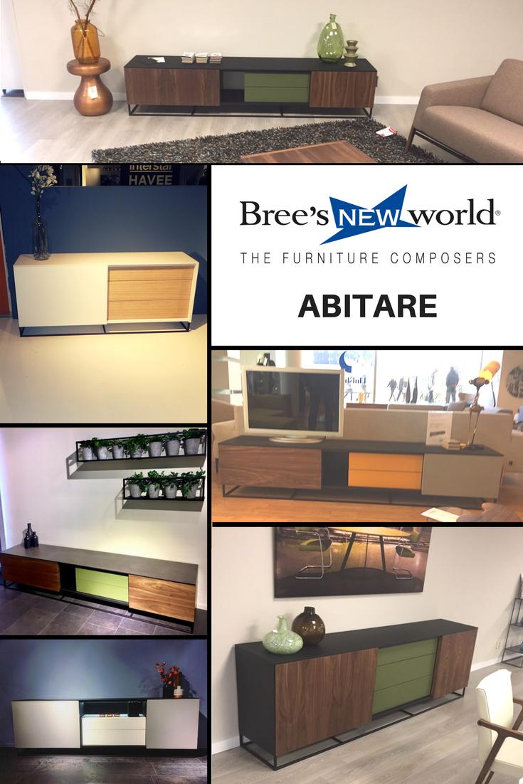 Abitare: de nieuwe kastenserie van Bree\'s New World. Dressoirs ...