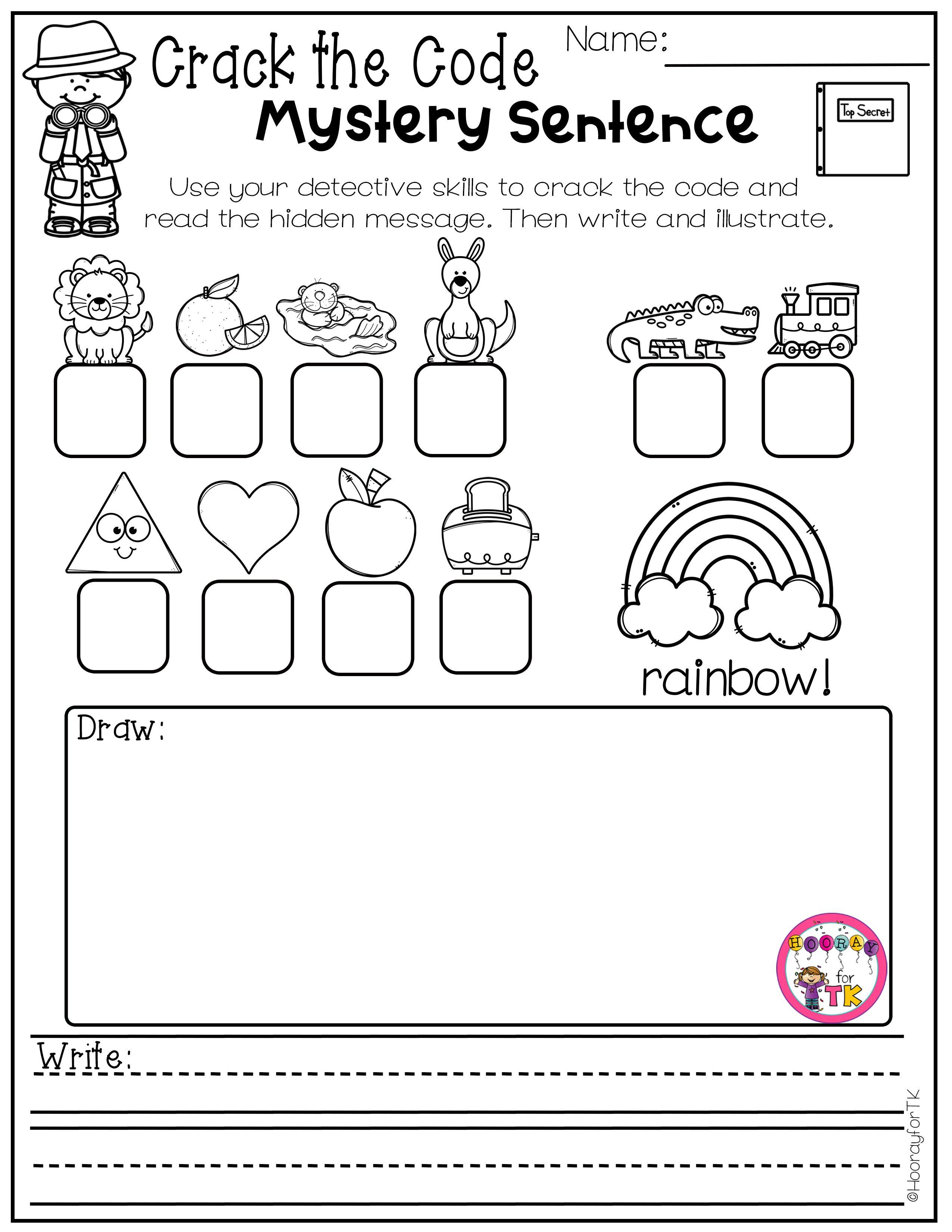 Spring Worksheets For Kids In