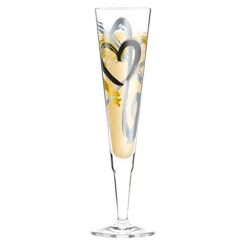Ritzenhoff Champus 200ml Glass Champagne Flute Wine Glass Set Cocktail Glass Coffee Glasses