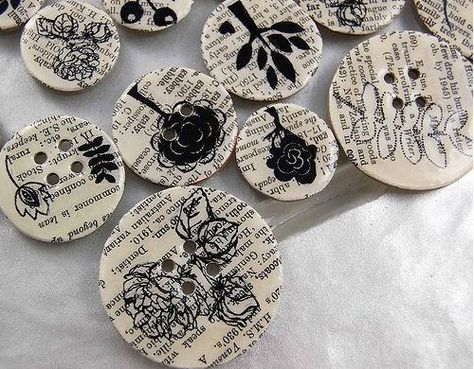 Удивительный предмет — пуговица | Поделки из пуговиц, Идеи ...  Красивые Поделки из Бумаги И Как Их Делать