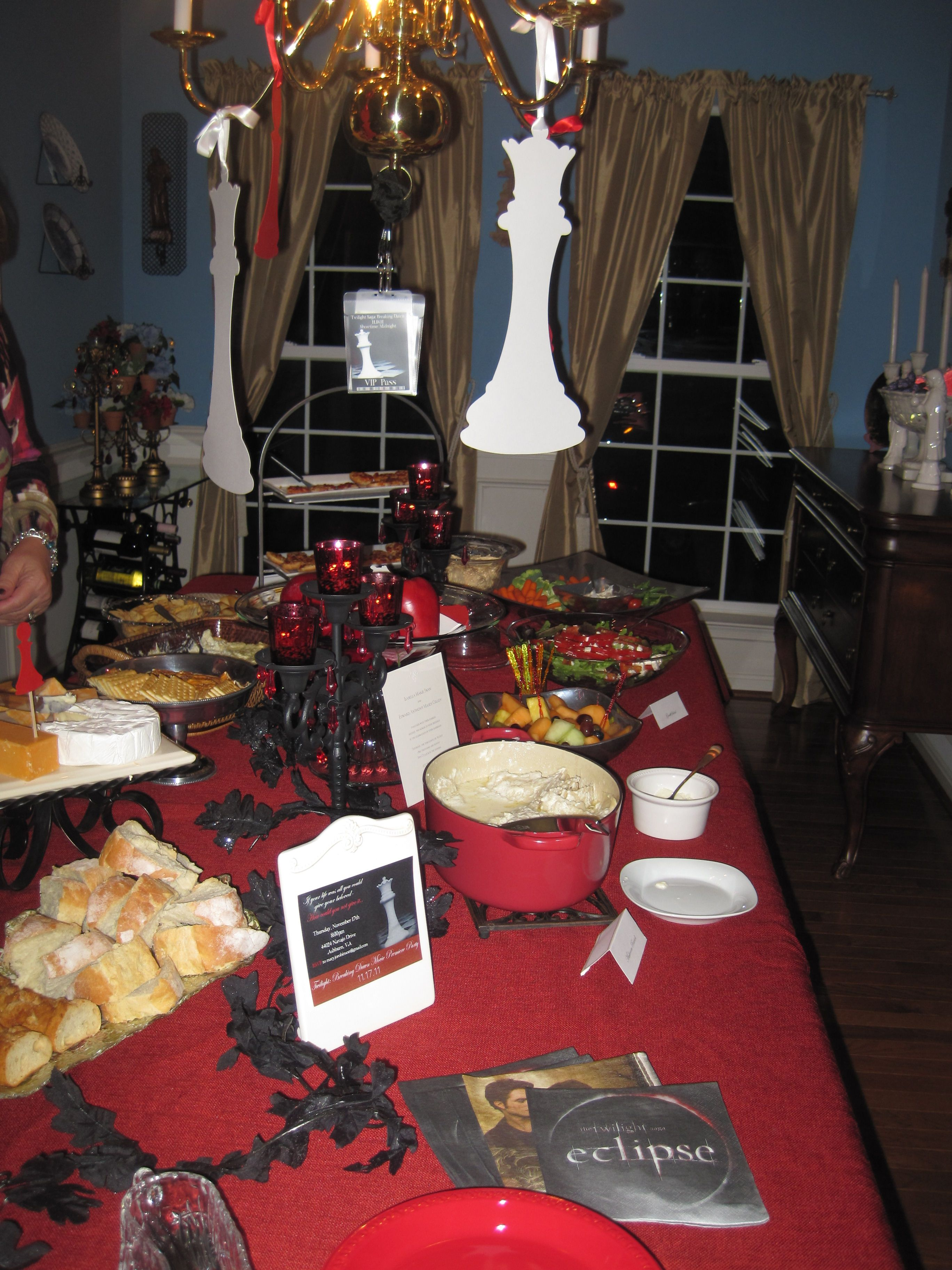 Twilight Party Buffet