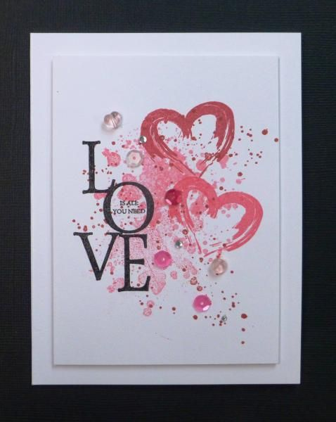 handmade valentine by hobbydujour looks like a piece of modern valentine day card ideas