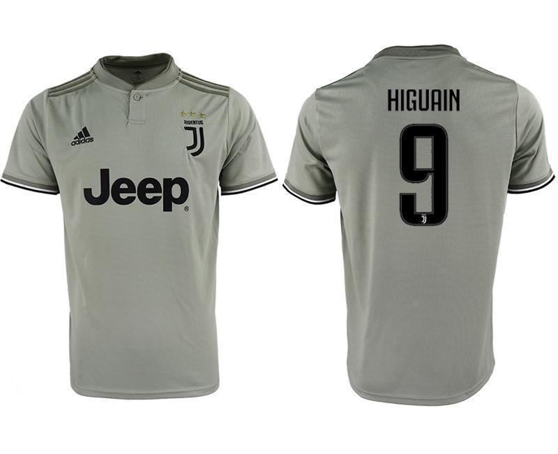 online store b11e3 a92bf Men's Juventus Jersey #9 Gonzalo Higuaín Jersey Away Soccer ...