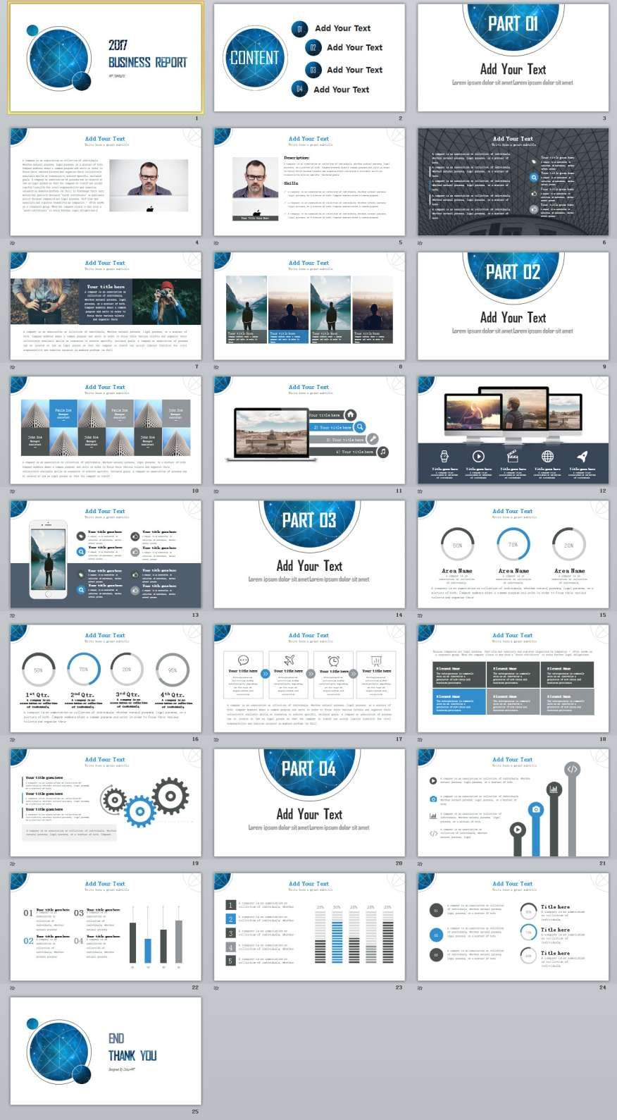25 best business powerpoint template visual design pinterest 25 best business powerpoint template the highest quality powerpoint templates and keynote templates download cheaphphosting Gallery