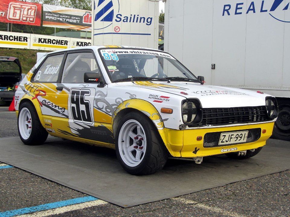 Toyota Starlet KP60 VHTRacing Engineering The Best Stuff