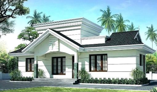 House Designs Kerala Style Desain Rumah Kecil Desain Rumah Modern Denah Rumah