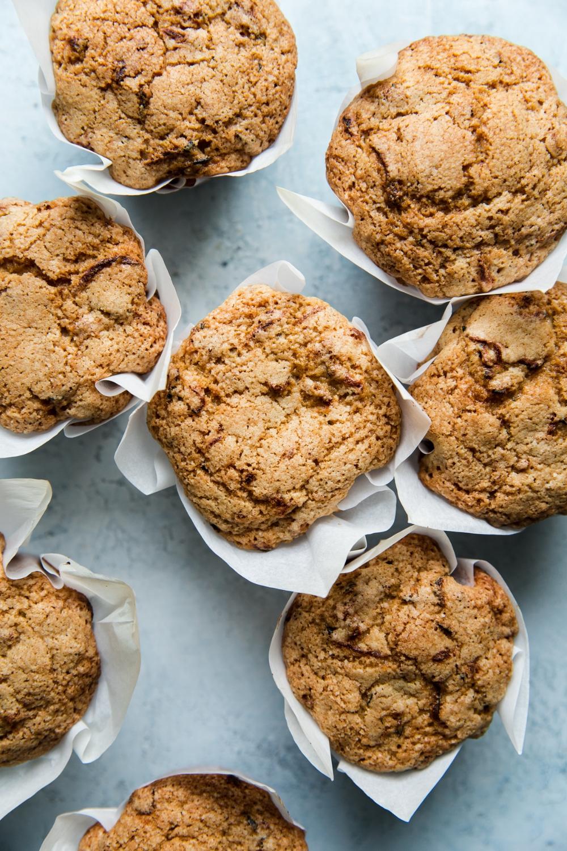 mom's zucchini bread muffins  the modern proper  recipe