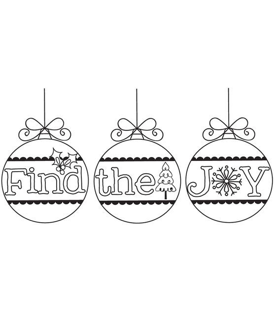 Itty Bitty Unmounted Rubber Stamp-Find The Joy, , hi-res ...