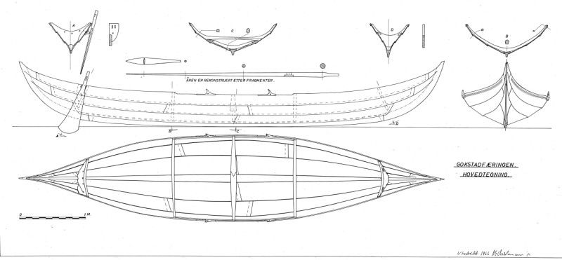 planning on building an 18' replica viking ship in plywood ...