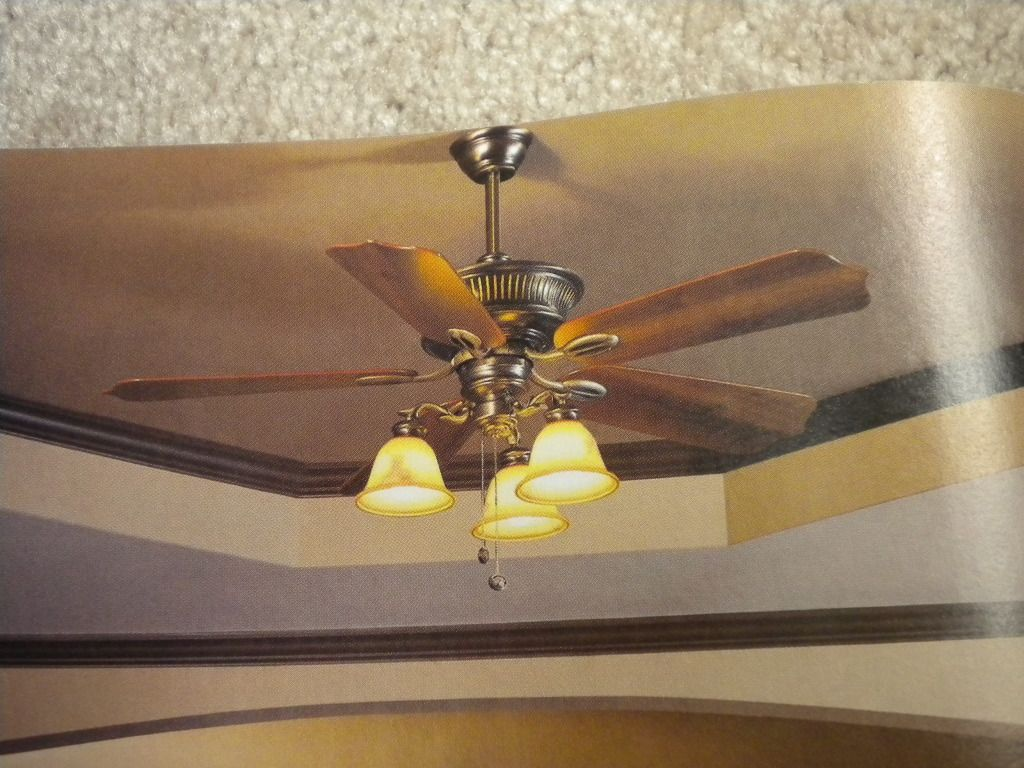 H&ton Bay Sussex Ceiling Fan Photo This is in my 2004 Home Depot catalog; & home depot ceiling fans hampton bay | Hampton Bay Sussex Ceiling ... azcodes.com