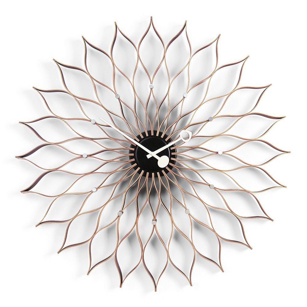Discover The Vitra Sunflower Clock   Birch At Amara