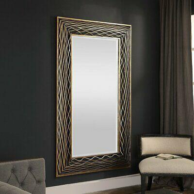 Uttermost Galtero Rectangle Wall Mirror - 45.25W x 75.63H in. (ebay link)