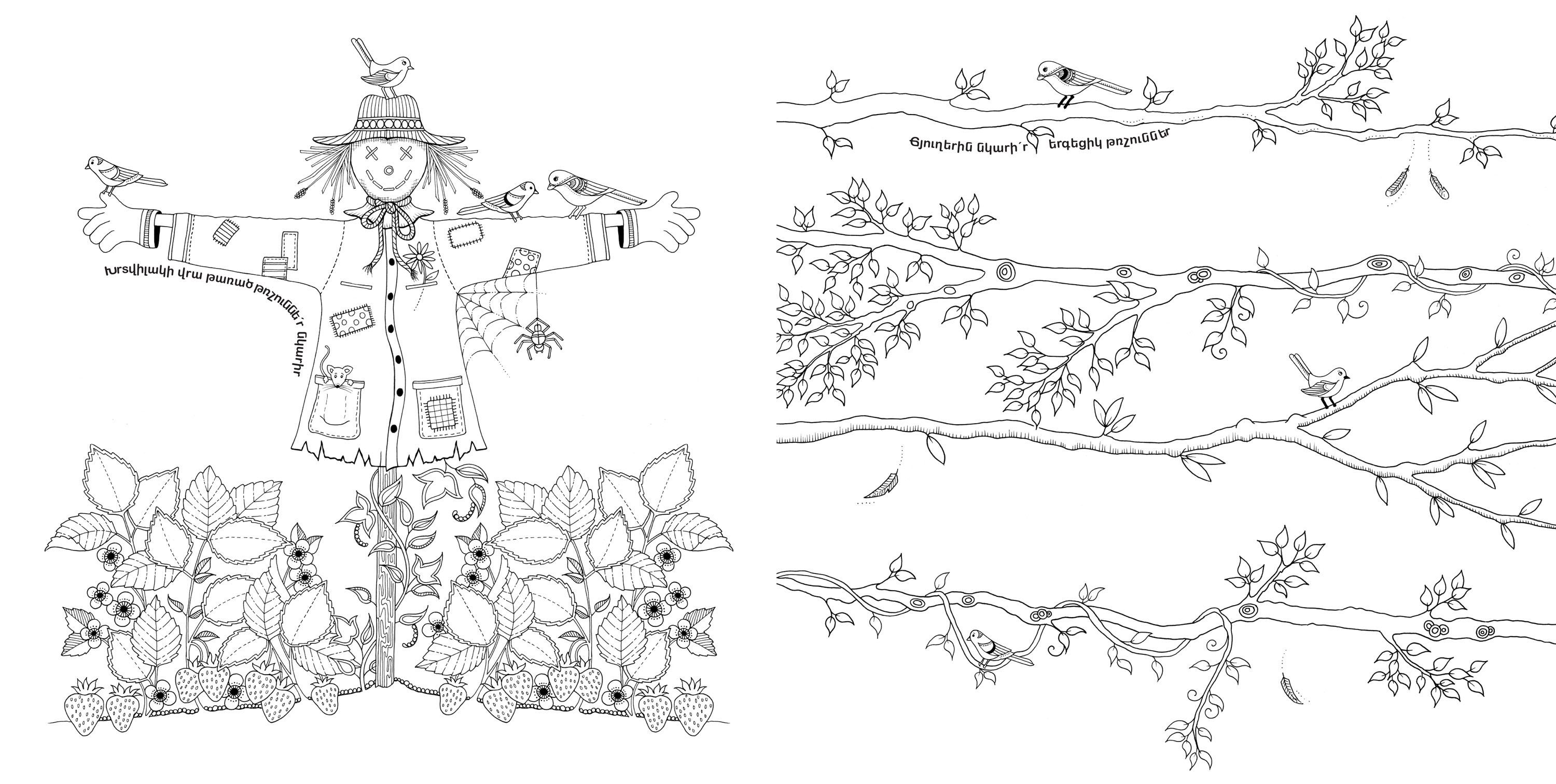 Garden Coloring Pages For Adults Secret Garden Coloring Pages Reference Images Patterns