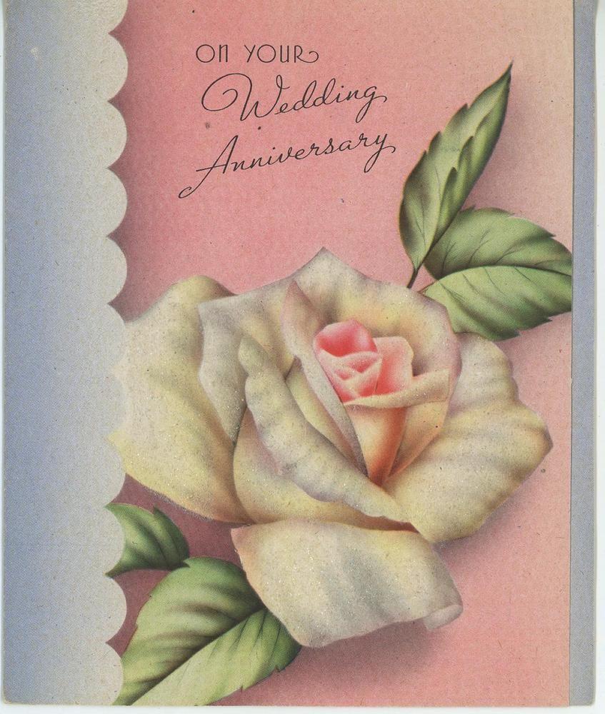 Vintage Garden Pretty Rose Flower Art Nouveau Wedding Anniversary Card Art Print Ebay Flower Art Art Nouveau Weddings Card Art