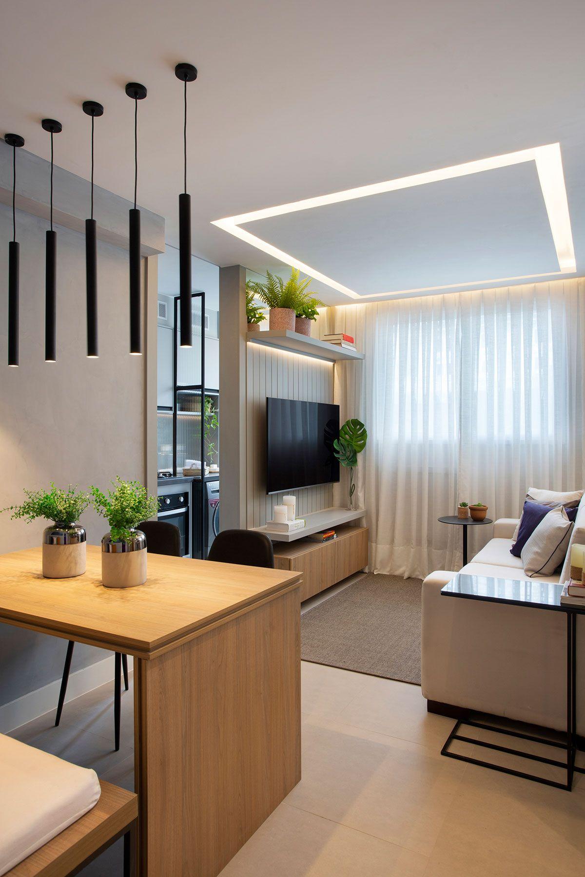 Conforto E Qualidade De Vida Em 27m2 Apartamentos Pequenos