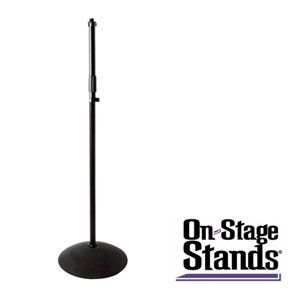 On-Stage Dome Base Microphone Stand