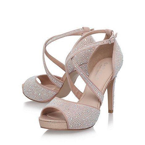 0d8ca515b36 Carvela Natural  Larna  high heel sandals