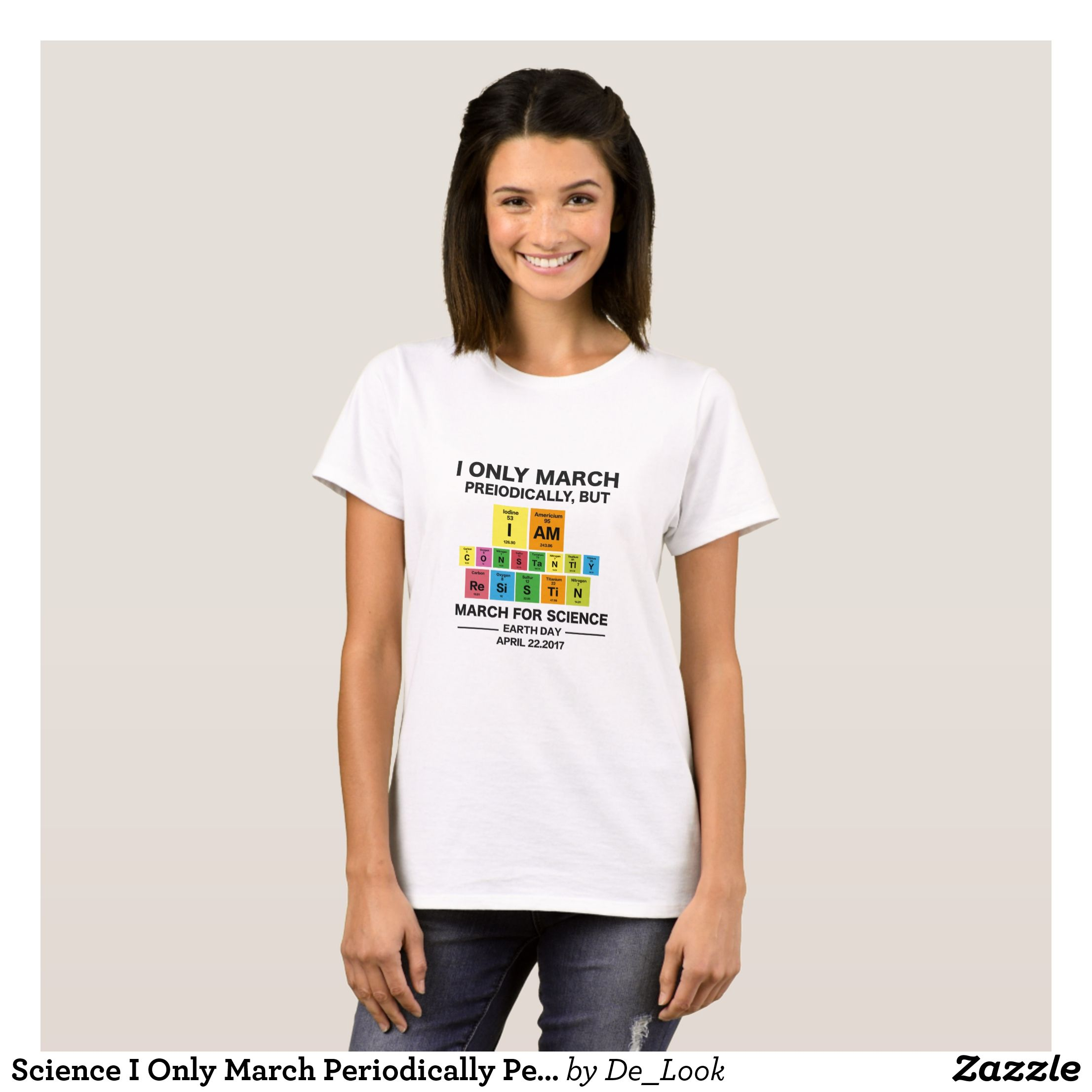 Science i only march periodically periodic table t shirt periodic periodic table urtaz Gallery