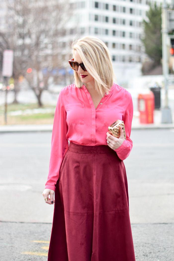 40783aa808 Pink   Burgundy Washington Dc Fashion
