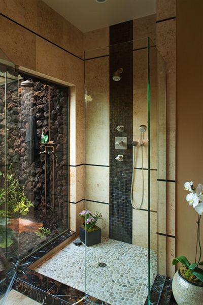 Banheiro com Jardim de Inverno:
